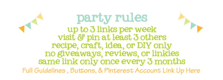 Moms Make Money - linky party rules