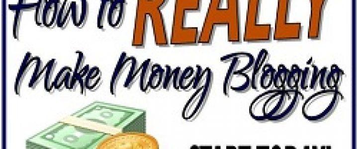 Make Money Blogging - free 4 week Online Course.