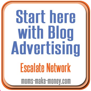 Where to start with Blog Advertising - follow through these instructional videos to use Escalate and start earning from your blog.  From Moms Make Money.