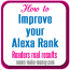 Can you improve your Alexa Rank? Real readers results after 1 month, from Moms Make Money.