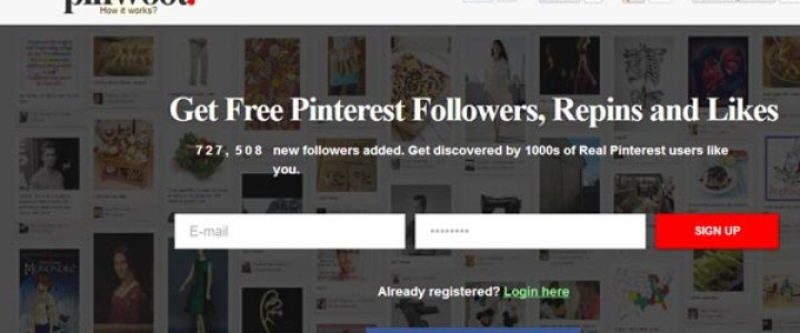 Get more Pinterest followers, more repins and more likes with PinWoot - read more here.