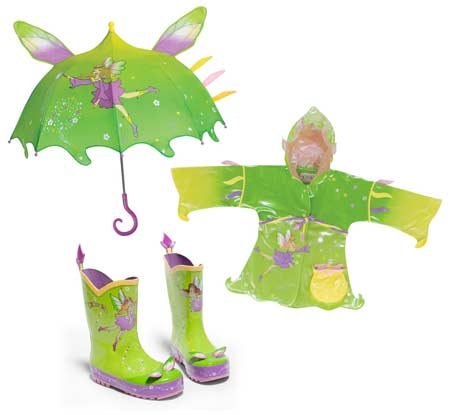Kidorable - fairy raincoat