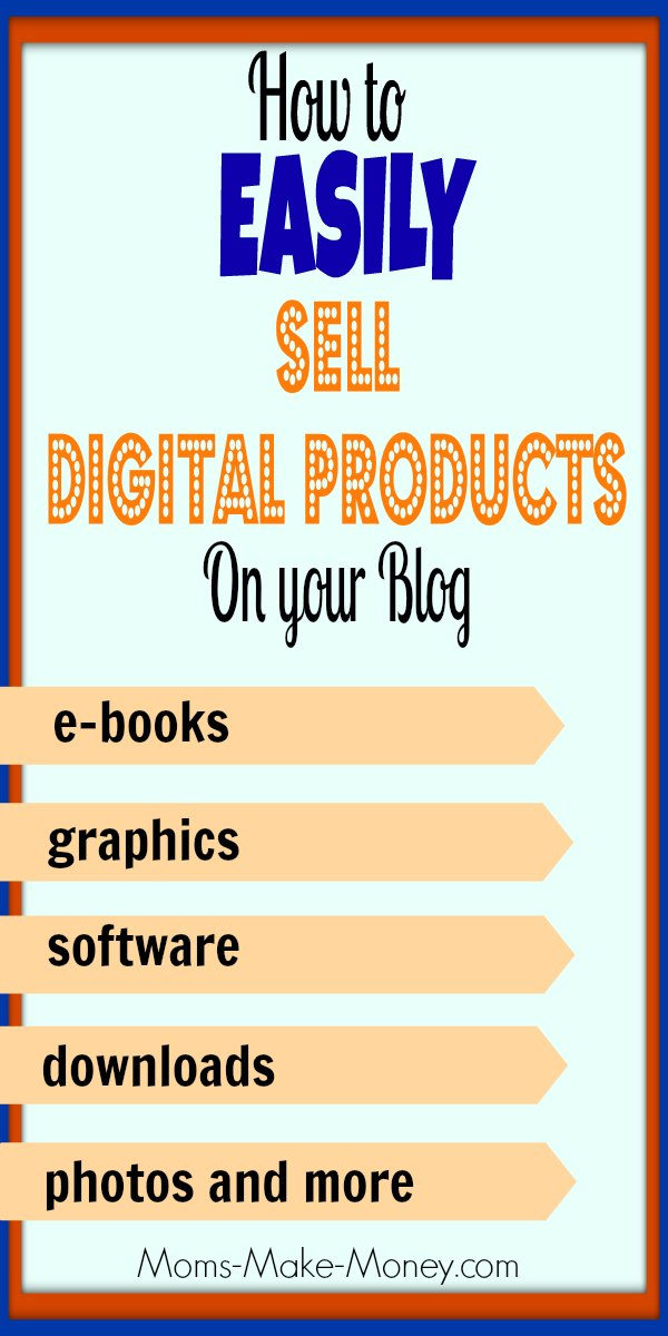 how to sell digital products online setting up shop