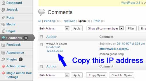 How to put an end to spam comments on your blog for good!