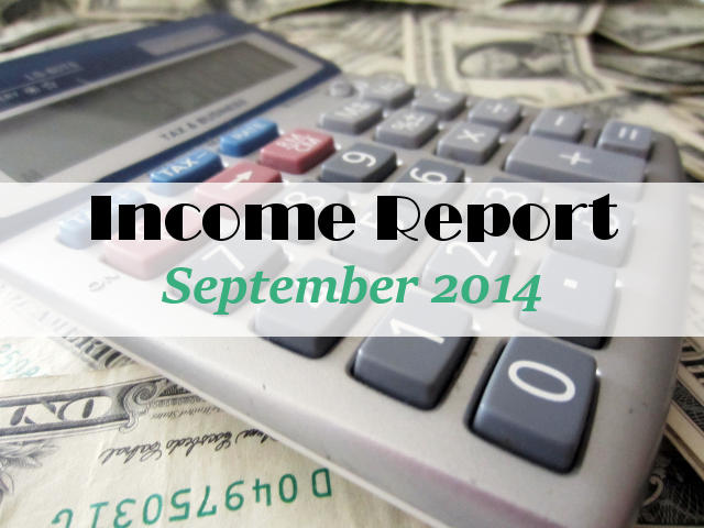 Income Report September 2014