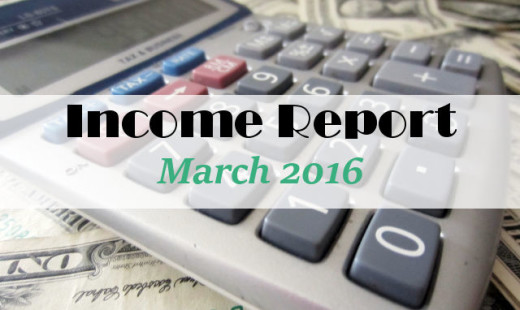 Income Report March 2016