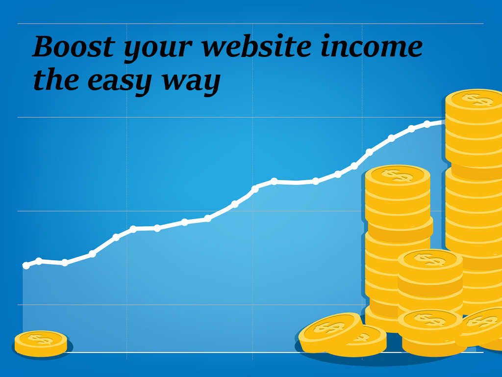Boost your website income